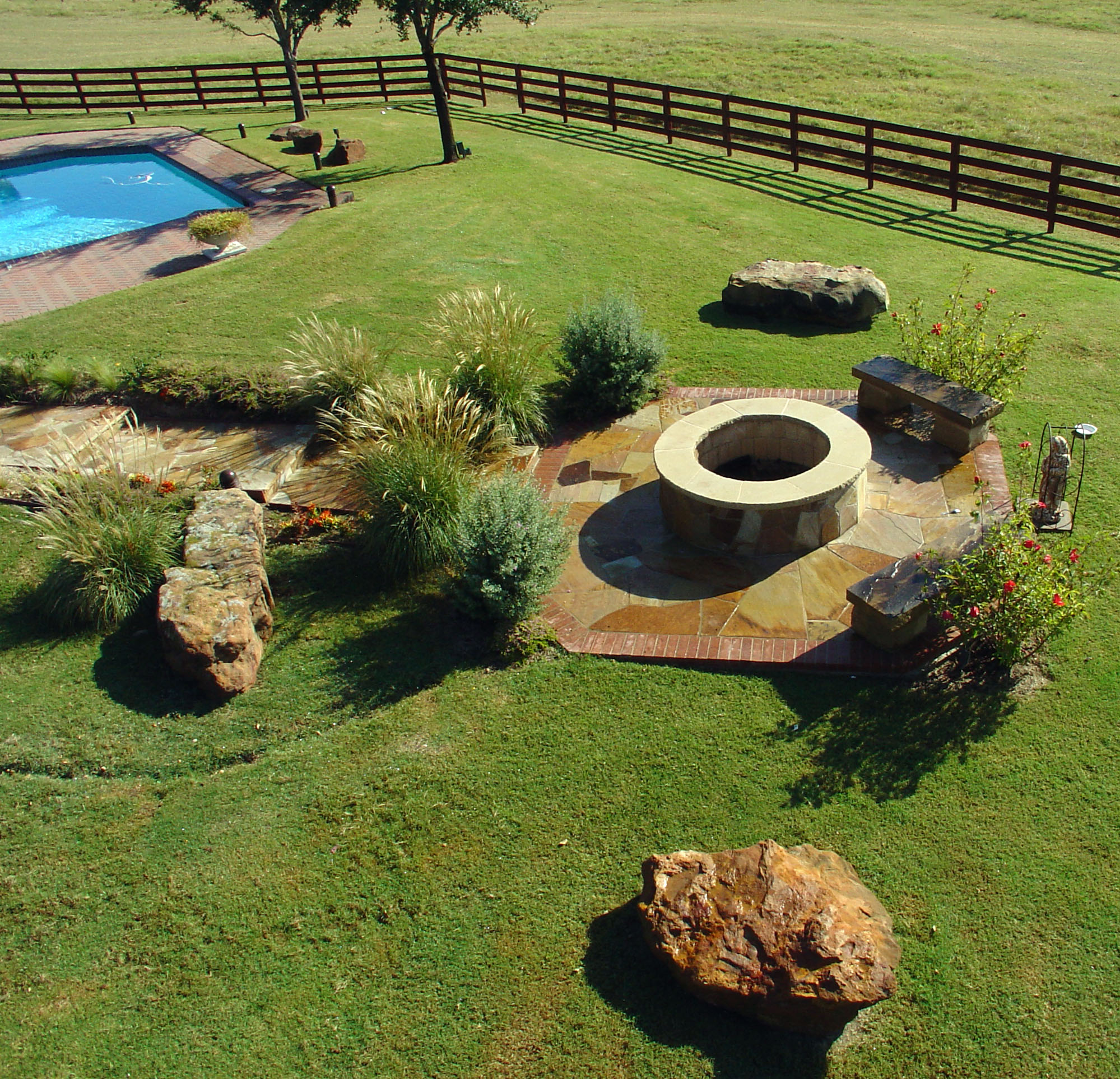 CAD landscape design and Texas plant recommendations